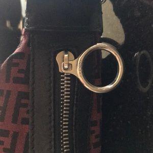 Fendi Bags - Fendi vintage asymmetrical burgundy bag